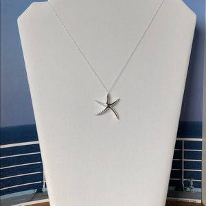 Sterling Silver Starfish necklace.